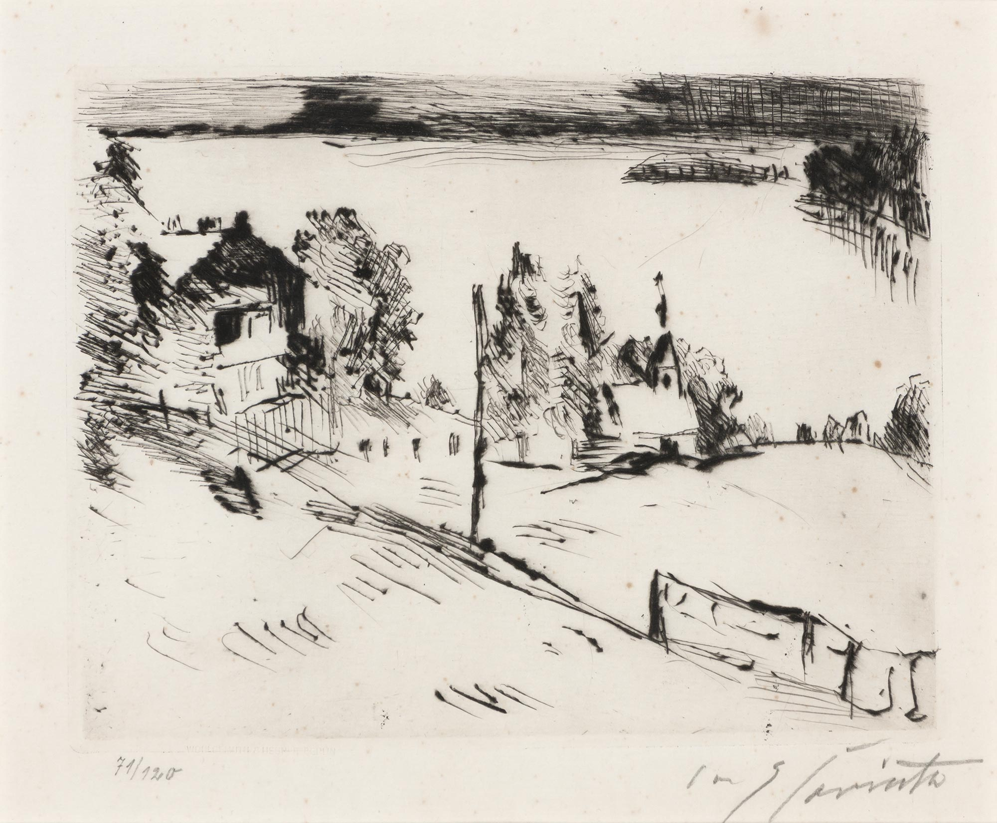 Lot image - Lovis Corinth (1858-1925)