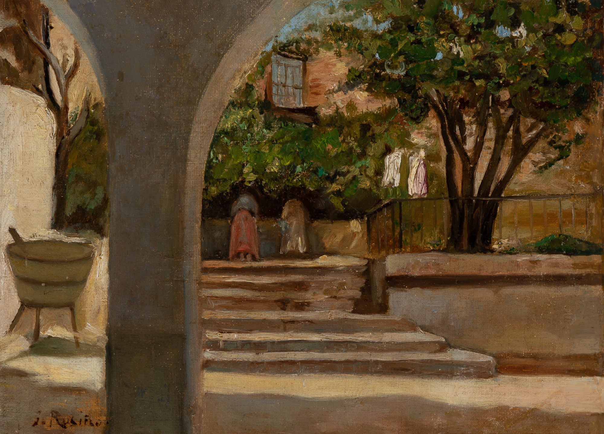 Lot image - Santiago Rusinol