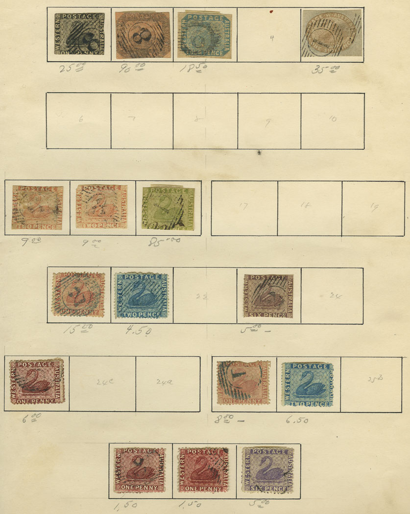 Lot image - Pacific Area Collection of Postage Stamps