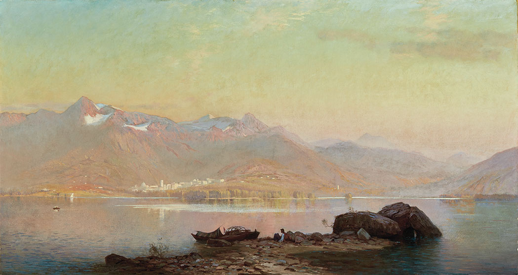 Lot image - Alfred Wordsworth Thompson