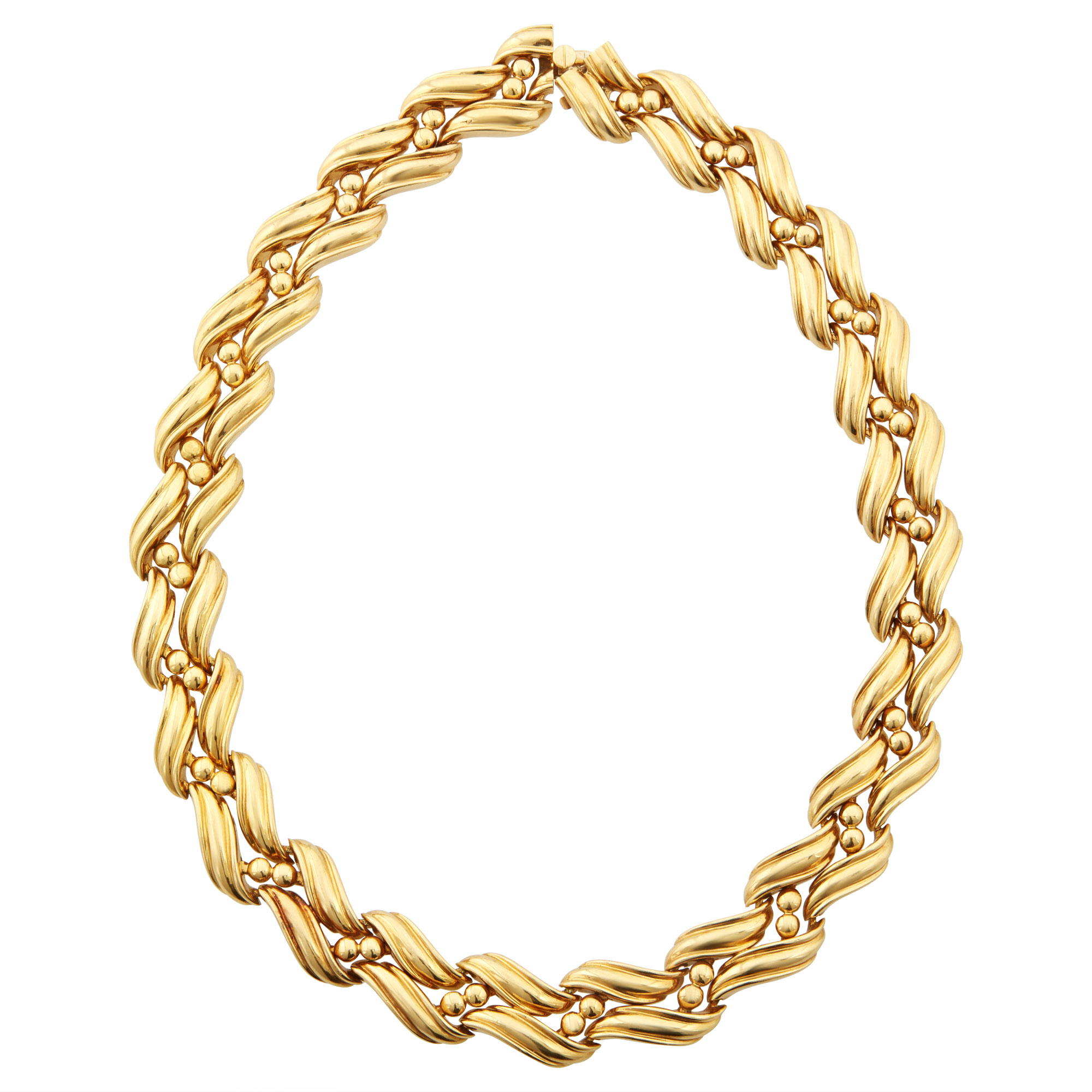 Lot image - Chaumet Gold Necklace, France