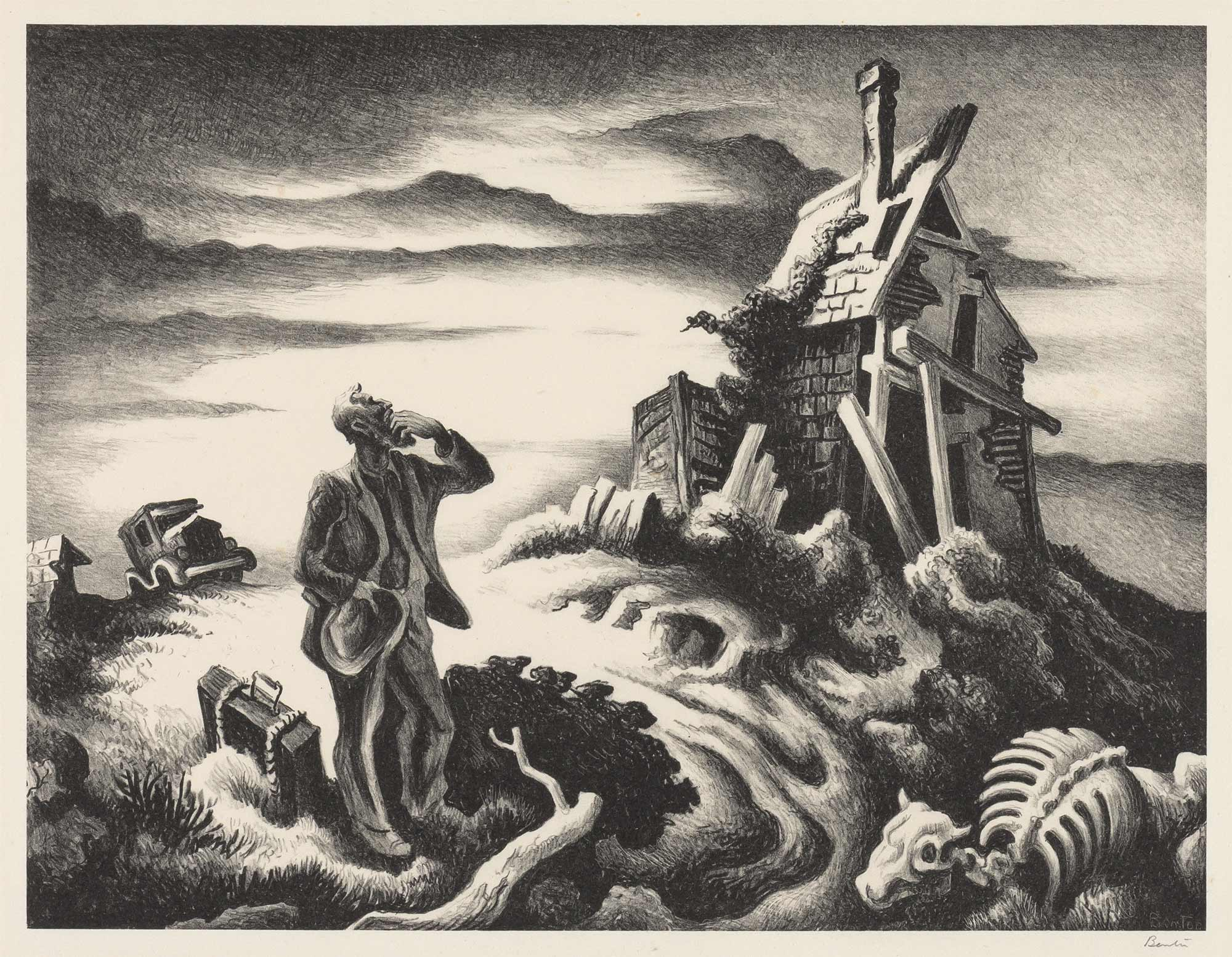 Lot image - Thomas Hart Benton (1889-1975)