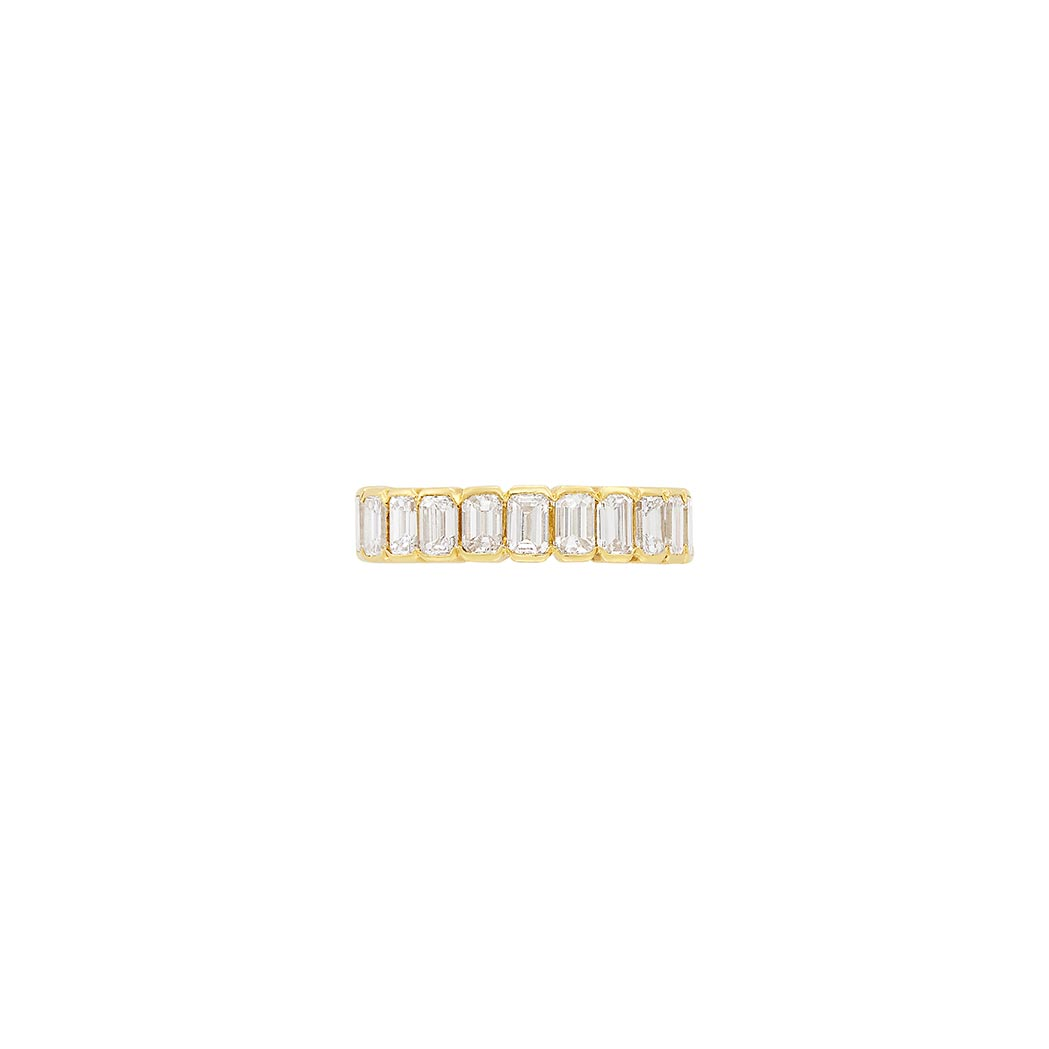 Lot image - Gold and Diamond Band Ring, Chaumet, Paris