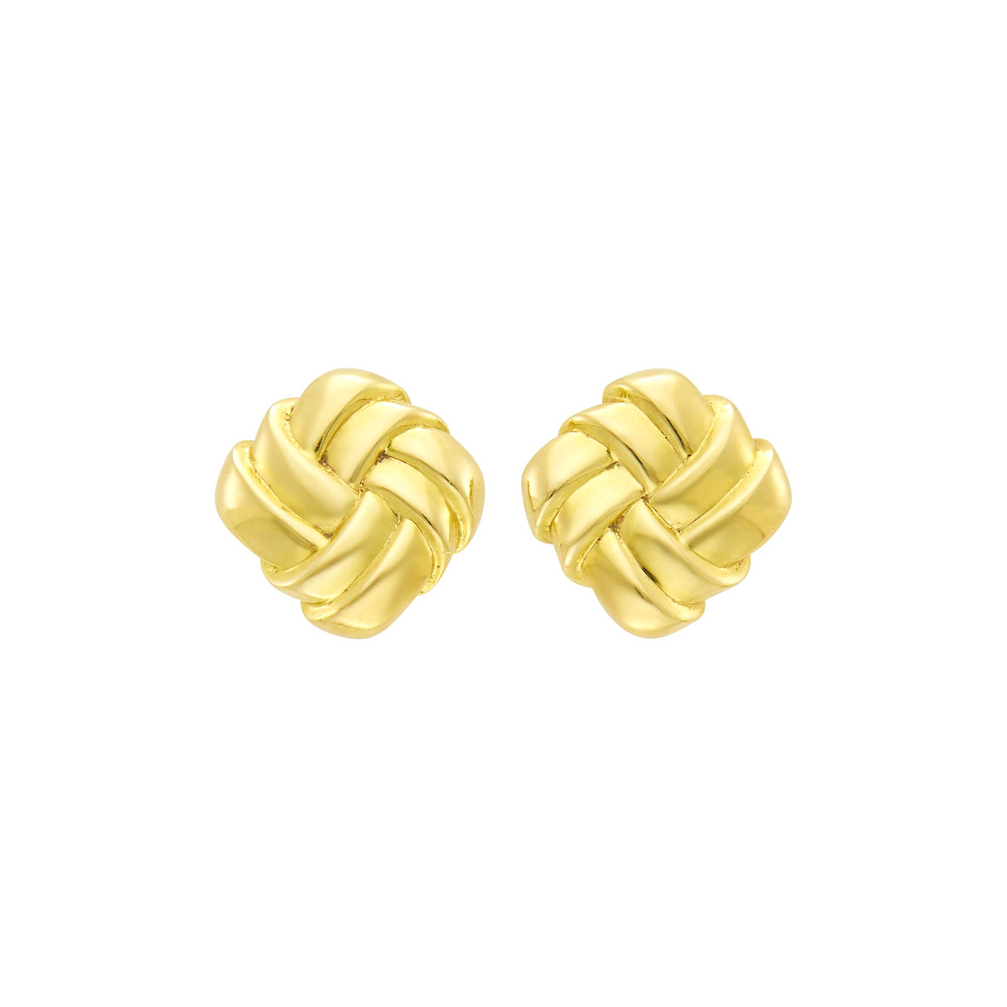 Lot image - Angela Cummings Pair of Gold Earclips