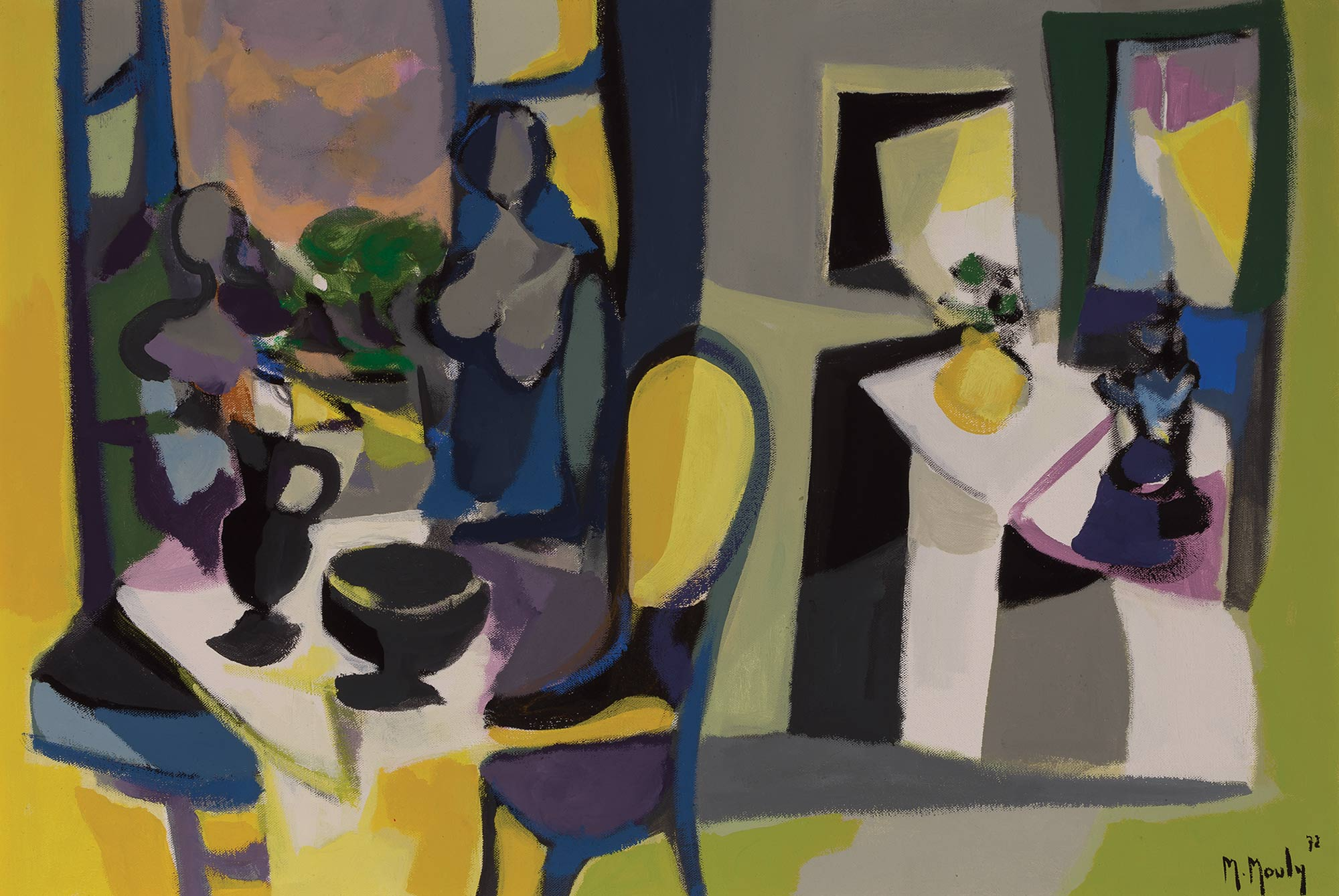 Lot image - Marcel Mouly