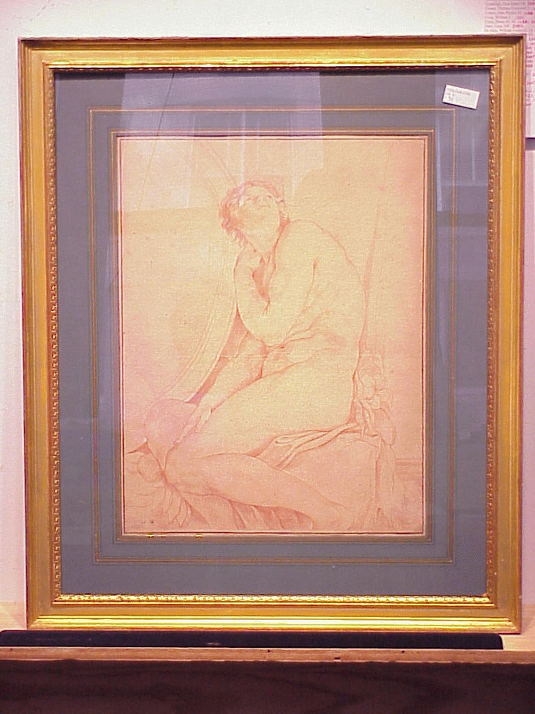 Lot image - After Annibale Carracci MALE NUDE FIGURE