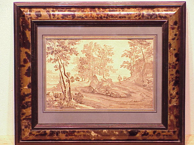 Lot image - Attributed to Jan Both DROVER IN LANDSCAPE