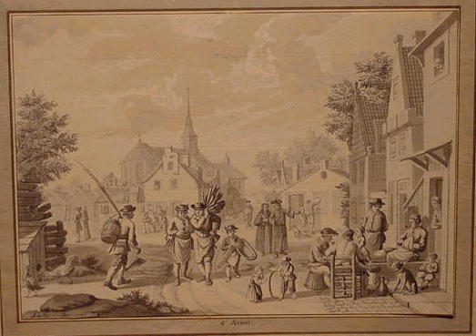 Lot image - Nicolaas Aartman Dutch, 1713 - 1793 MORNING and MIDDAY: TWO
