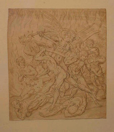Lot image - Continental School 18th Century FURY OF HELL