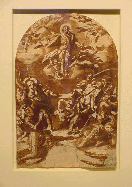 Lot image - Roman School 17th Century RESURRECTION