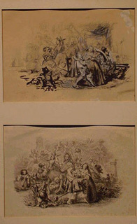 Lot image - Claude Anthelme Honore Trimolet French, 1798 - 1866 SCENE FROM LES CONTES DE FRIS