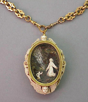Lot image - Reliquary Necklace