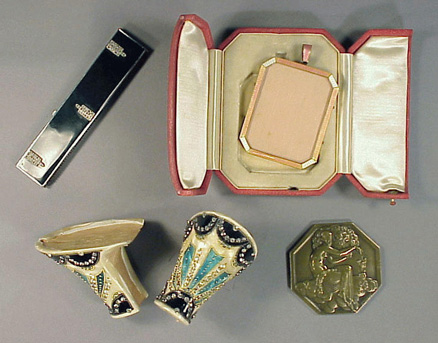 Lot image - Eclectic Group of Art Deco Objets