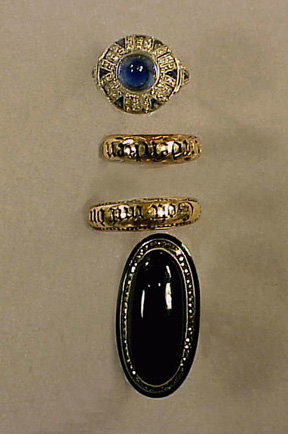 Lot image - Group of Antique Rings