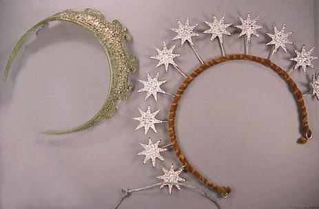 Lot image - Two Costume Tiaras