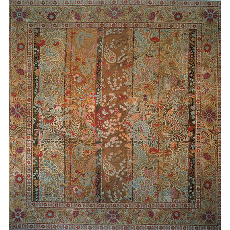 Lot image - Axminster Carpet (Wilton Workshops)
