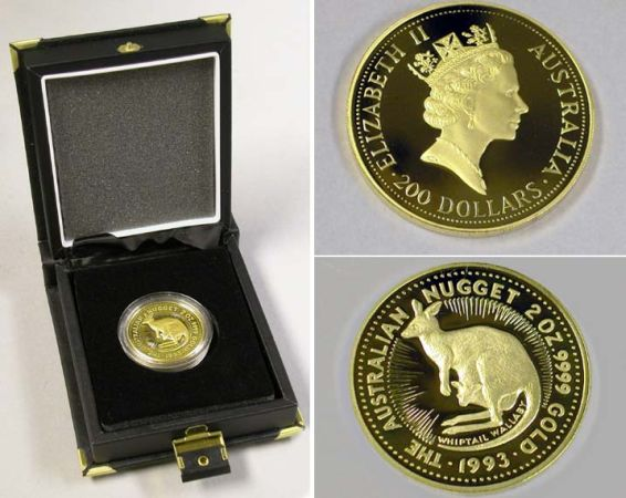 Lot image - Australia: 1993 2 Ounce Gold Coin