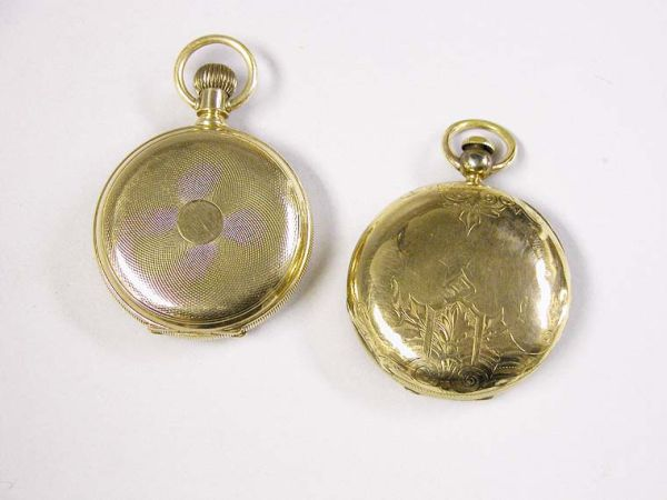 Lot image - Two Hunting Case Pocket Watch Cases