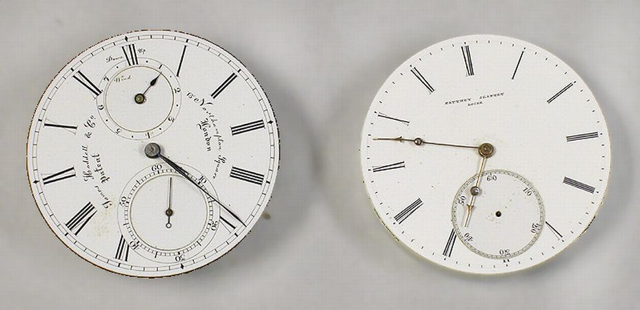 Lot image - Two Watch Movements