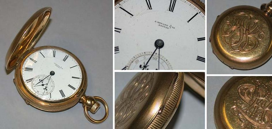 Lot image - Early Gold-Filled Hunting Case Watch