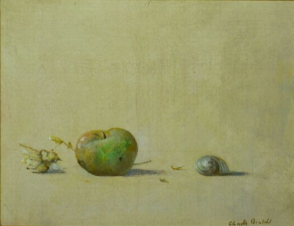 Lot image - Claudio Bonichi Italian, b.1943 APPLE AND SNAIL SHELL