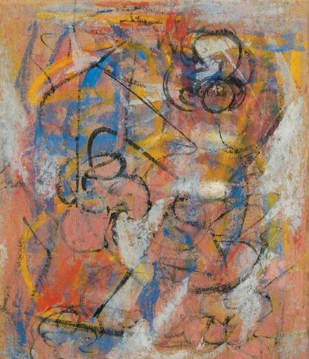Lot image - Abstract Expressionist School