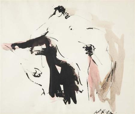 Lot image - Reuben Nakian American, 1897-1986 Europa and the Bull, 1960