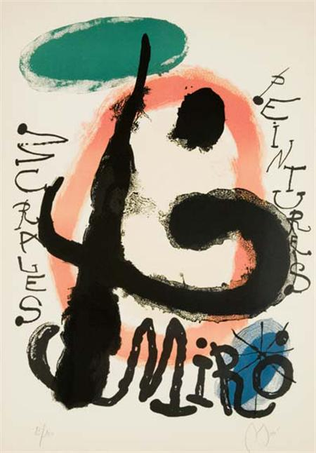 Lot image - Joan Miro