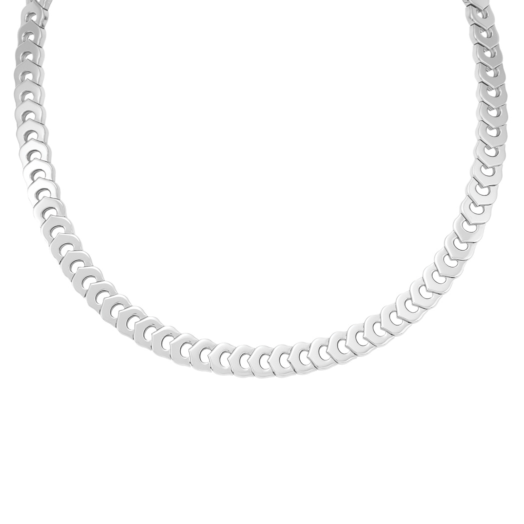 Lot image - White Gold Necklace, Cartier