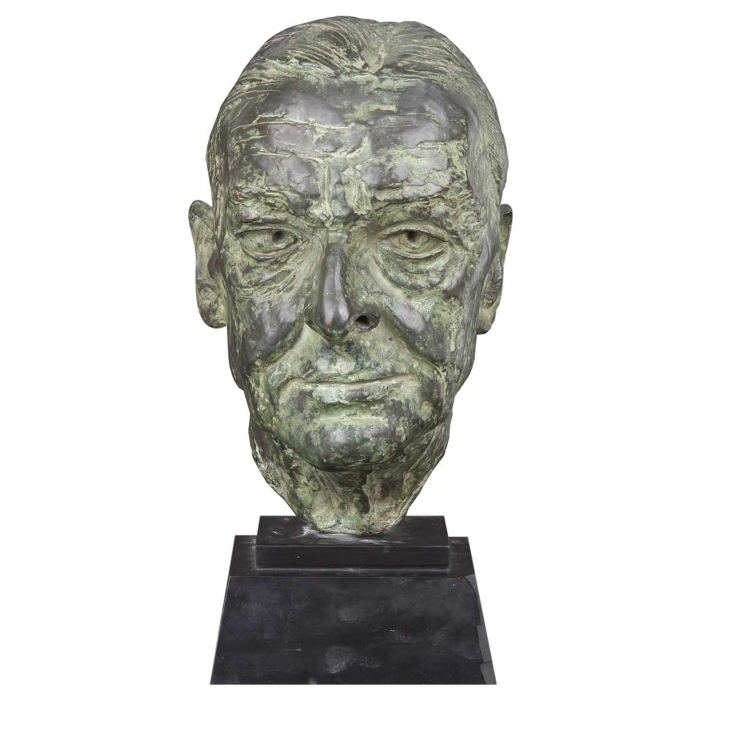 Lot image - Sir Jacob Epstein British, 1880-1959 T.S. Eliot