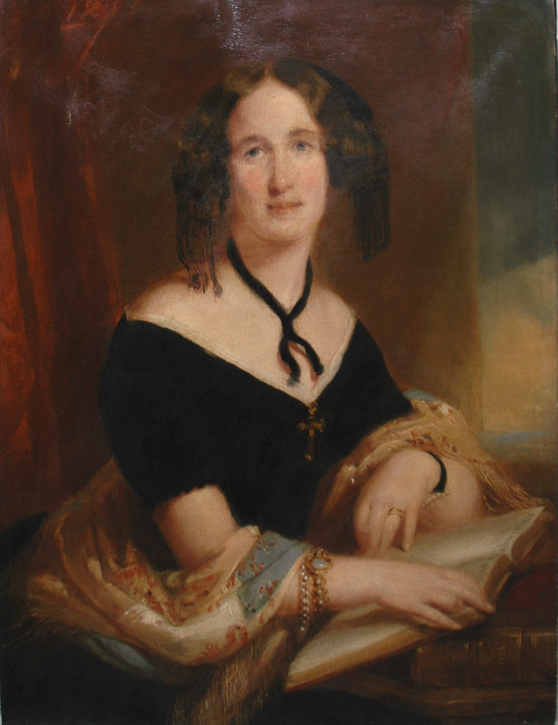 Lot image - Attributed to Thomas Sully Portrait of a Lady