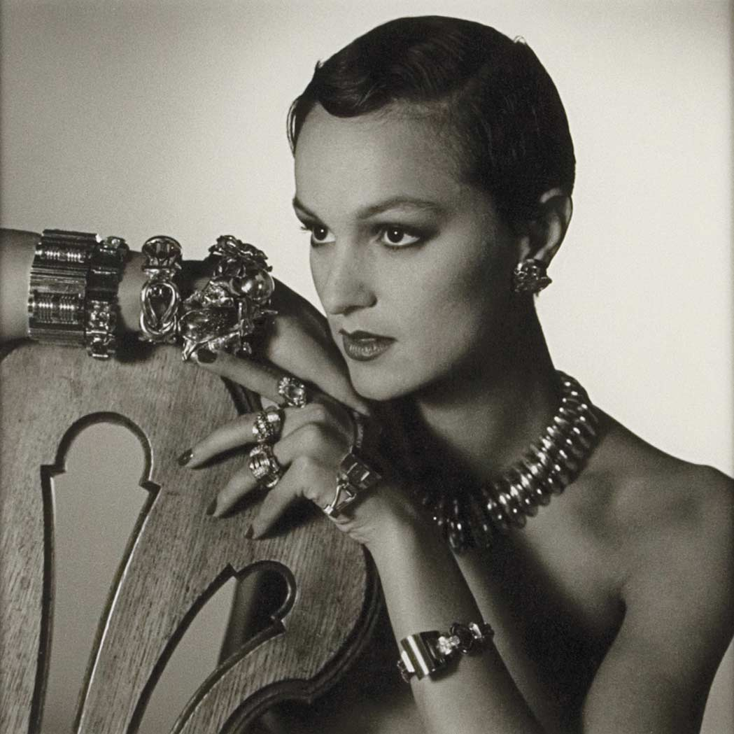 Lot image - HORST P. HORST (1906-1999)  Jewelry model