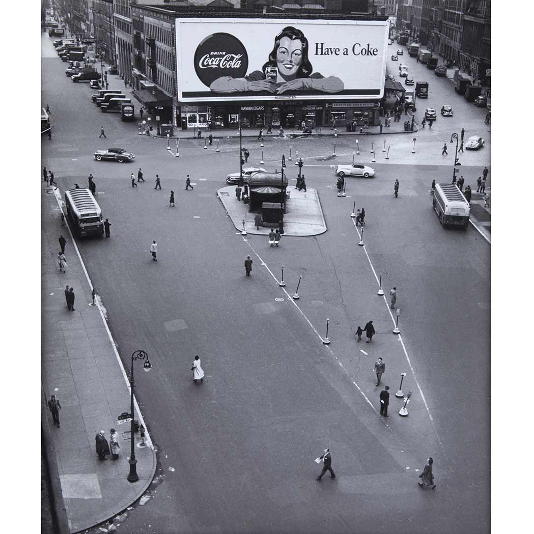 Lot image - BURCKHARDT, RUDY (1914-1999)  [ASTOR PLACE]