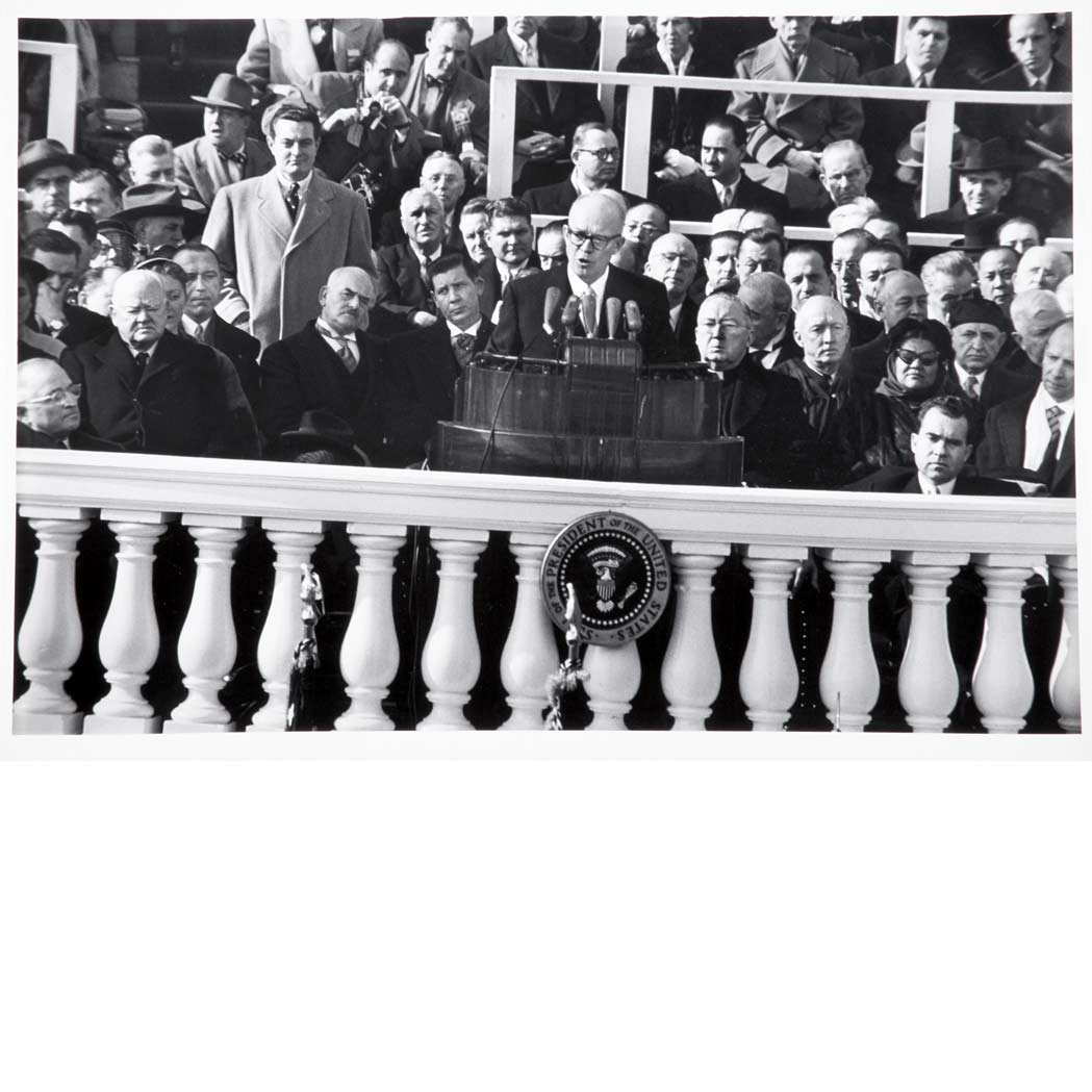 Lot image - EISENSTAEDT, ALFRED (1898-1995)  Inauguration of President Eisenhower