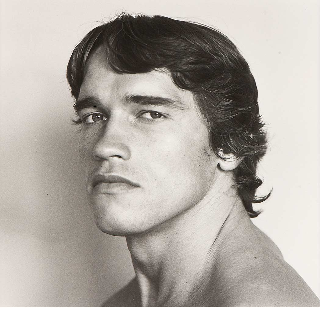 Lot image - MAPPLETHORPE, ROBERT (1946-1989). Arnold Schwarzenegger, 1976
