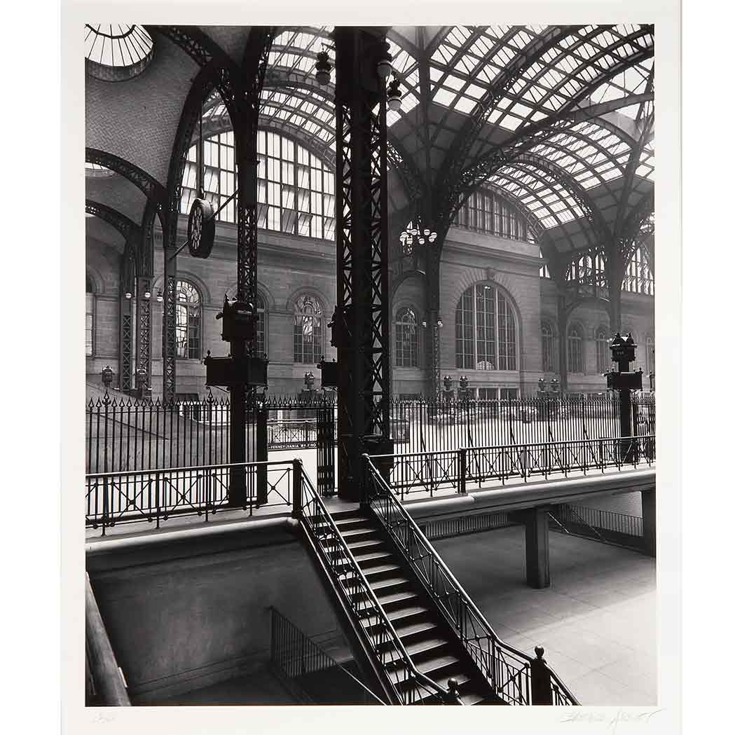 Lot image - ABBOTT, BERENICE (1898-1991)  Penn Station