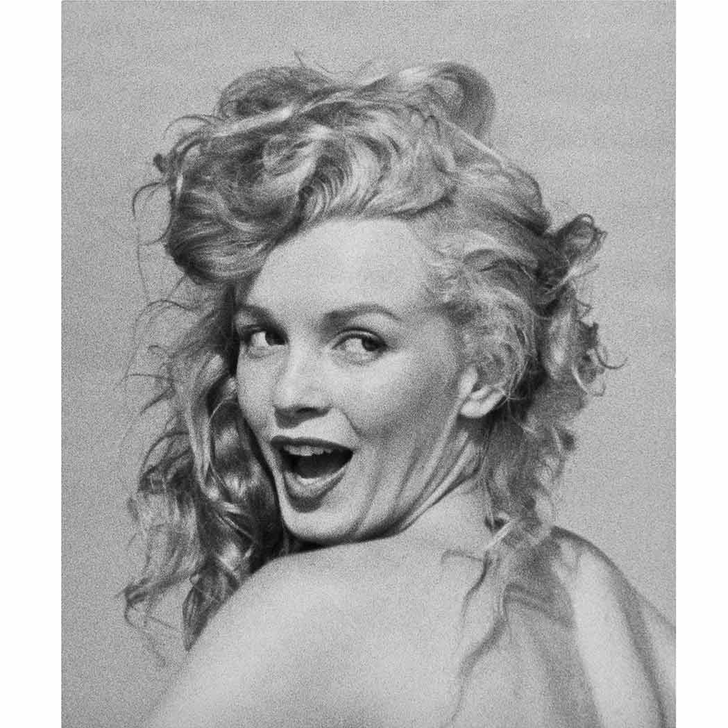 Lot image - DE DIENES, ANDRE (1913-1985)  Group of three images of Marilyn Monroe
