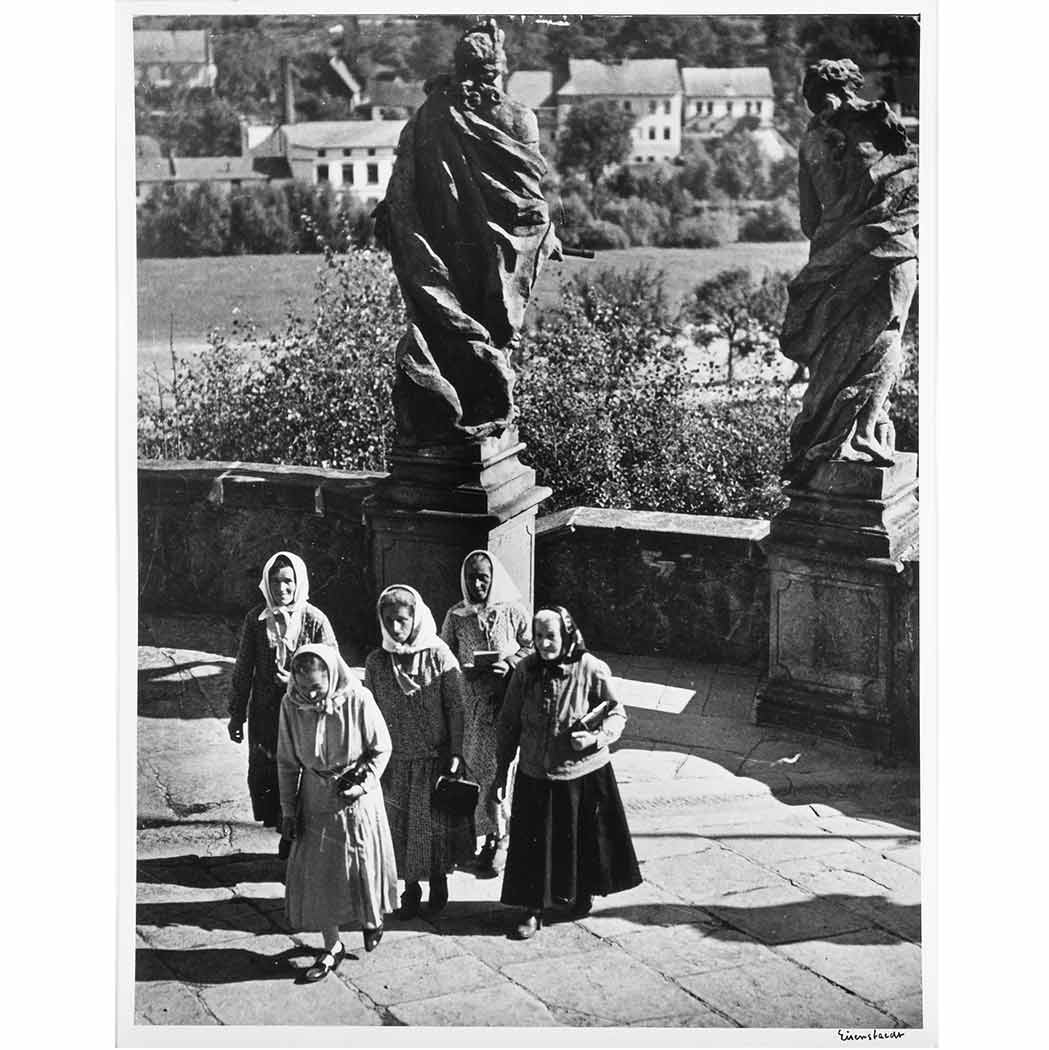 Lot image - EISENSTAEDT, ALFRED (1898-1995)  Group of two images