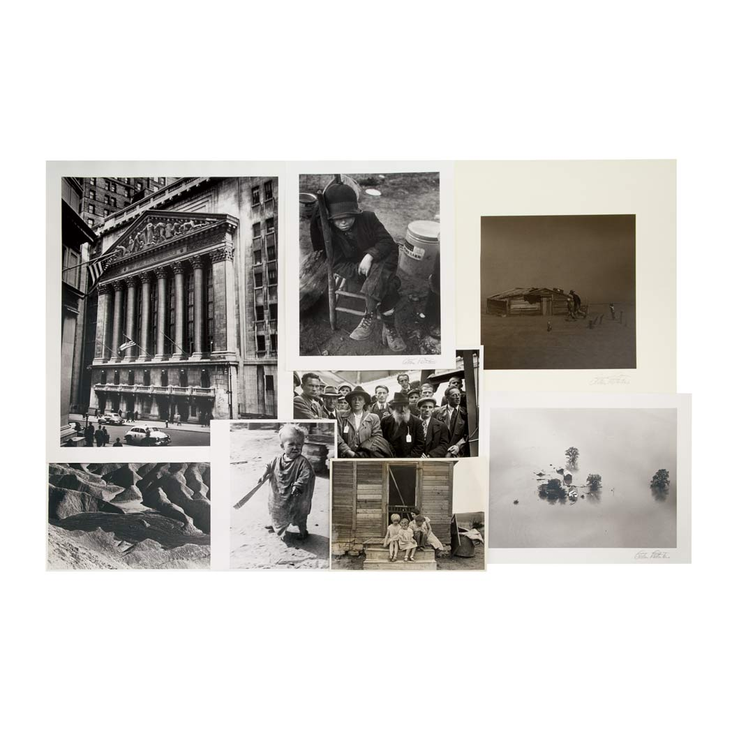 Lot image - ROTHSTEIN, ARTHUR  Large photographic archive of approximately two hundred images