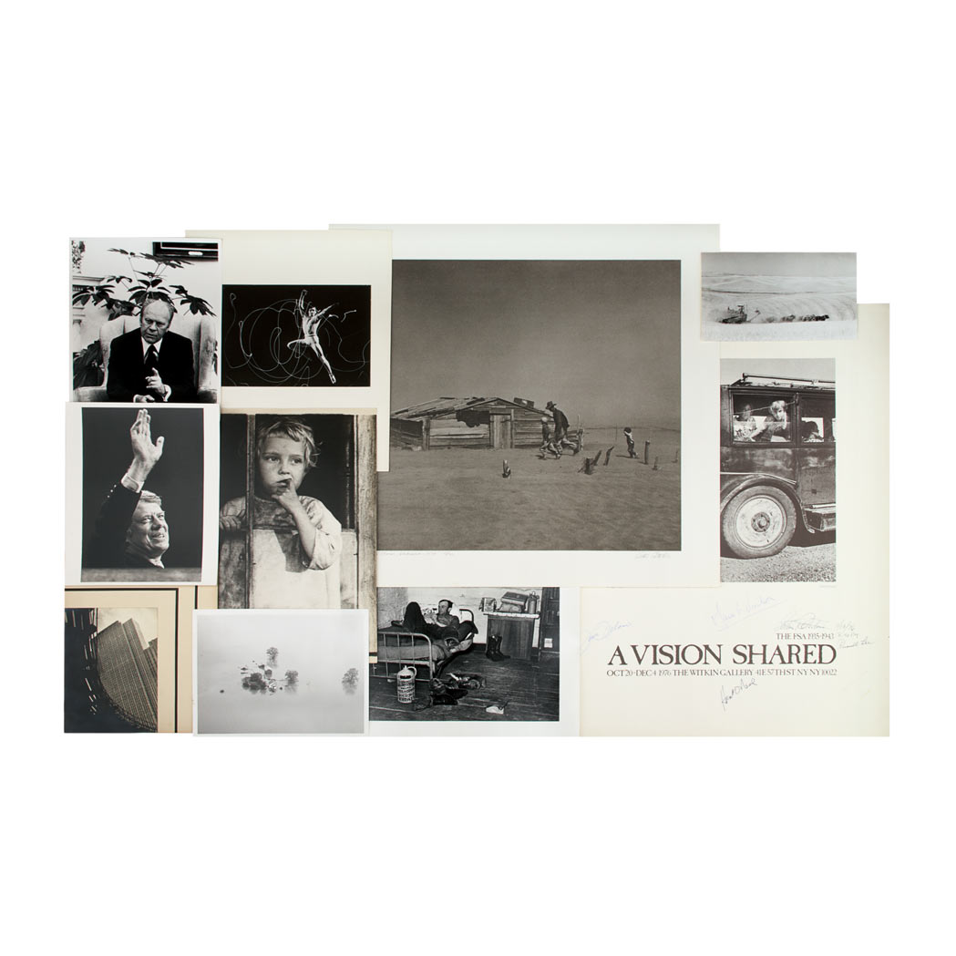 Lot image - ROTHSTEIN, ARTHUR  Large photographic archive of approximately one hundred eighty images