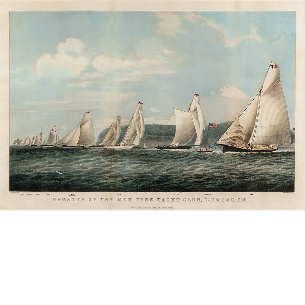 Lot image - Currier & Ives, publishers