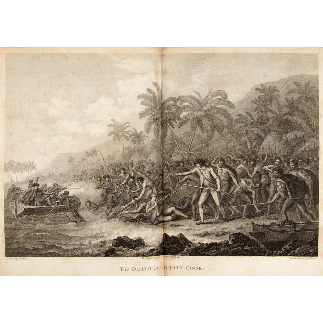 Lot image - [SOUTH SEAS] COOK, JAMES AND KING, JAMES [CAPTAINS]. A Voyage to the Pacific Ocean.