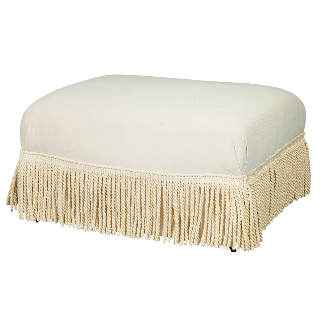 Lot image - Upholstered Ottoman