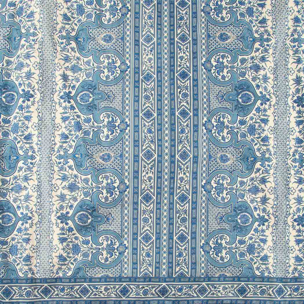 Lot image - Group of Three Charlotte Moss for Brunschwig & Fils Curtain Panels