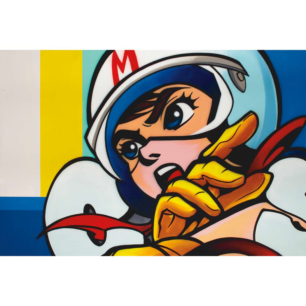Lot image - Ces American, b. 1970 Speed Racer, 2012