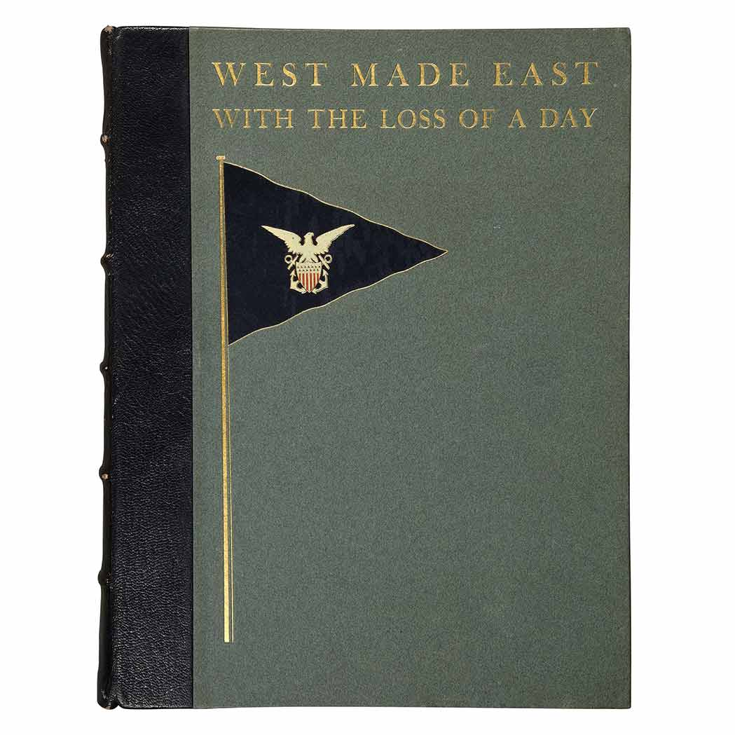 Lot image - VANDERBILT II, WILLIAM KISSAM  West Made East with the Loss of a Day