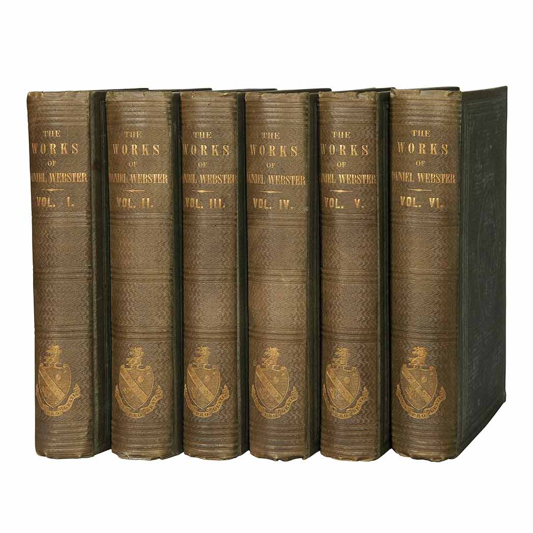 Lot image - WEBSTER, DANIEL  The Works of Daniel Webster
