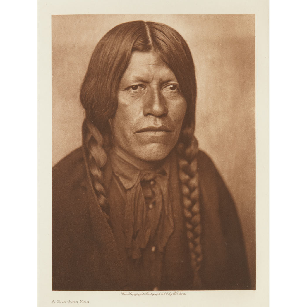 Lot image - CURTIS, EDWARD SHERRIFF (1868-1952)  The North American Indian, being a series of volumes picturing and describing the Indians of the United States, the Dominion of Canada, and Alaska