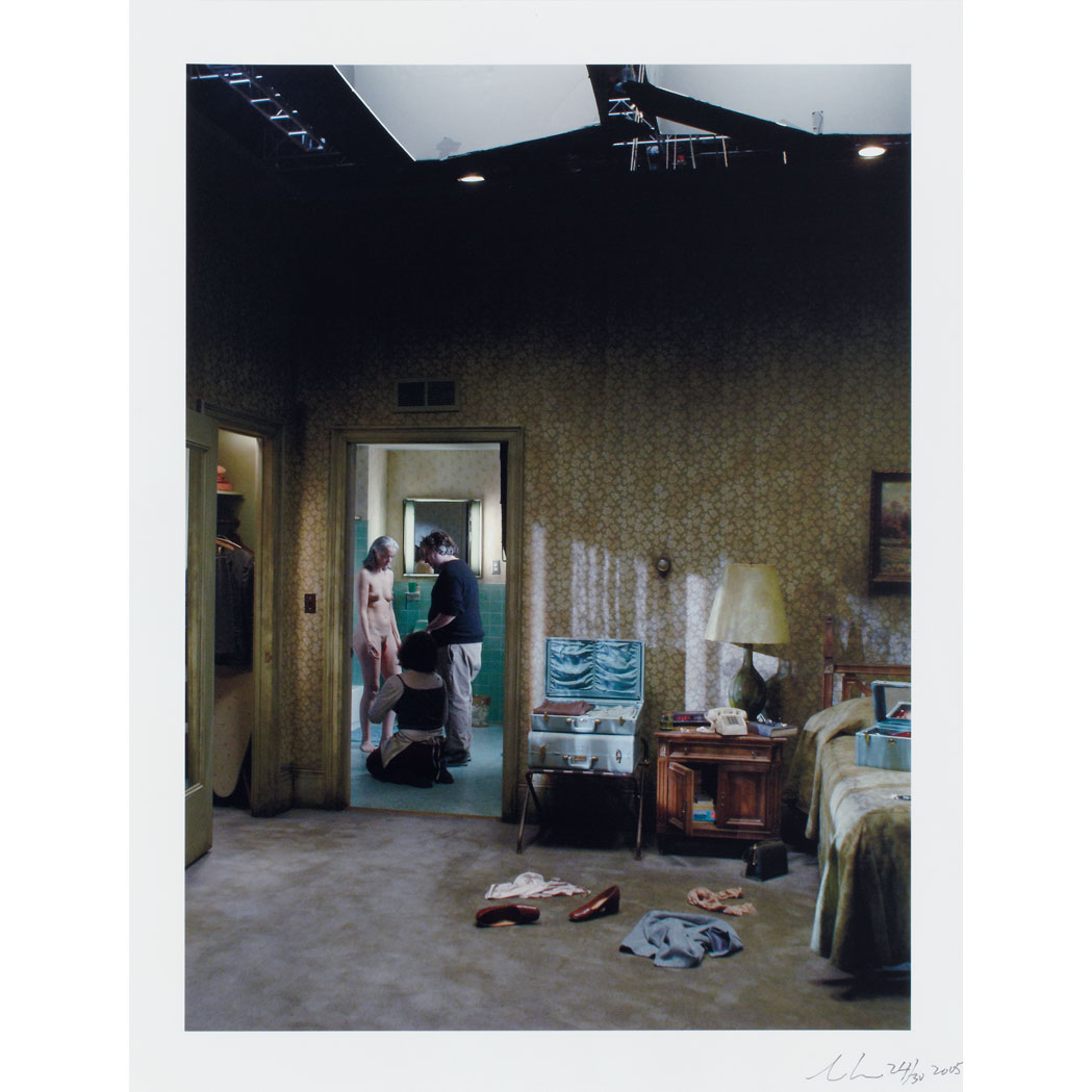 Lot image - CREWDSON, GREGORY (b. 1962)  Production Still B, 2005