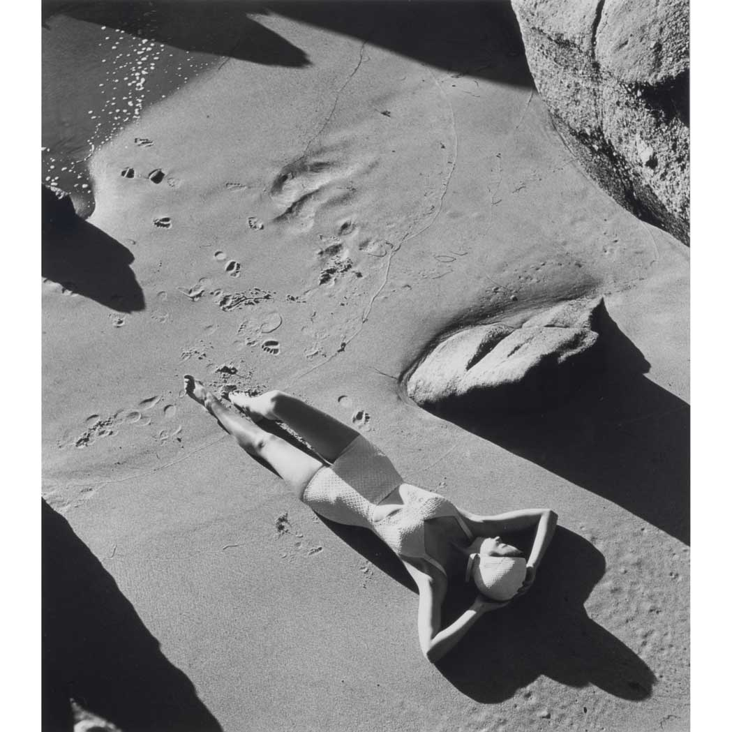 Lot image - DAHL-WOLF, LOUISE (1895-1989)  [Rubber Bathing Suit, California, 1940]